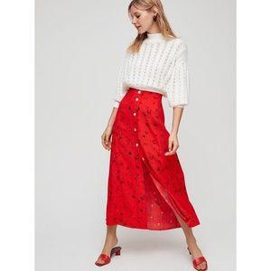 Aritzia Wilfred Amelie Skirt NWT